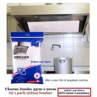 Kain Filter Penghisap Asap Dapur Minyak Kompor Cooker Hood exhaust fan