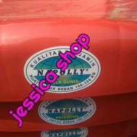 Kursi Plastik Senderan / Bangku Plastik Napolly Ariq988