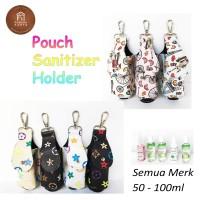 Gantungan Tas Hand Sanitizer   S003 Leather Premium   Sanitizer Holder