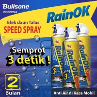 Bullsone - Speed Spray/efek daun talas/speed coating