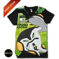 Baju Ben 10 Alien Force Kaos Dewasa Kartun Series #REG-272
