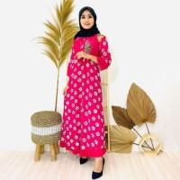 Daster muslim wanita l baju murah l dress muslim l baju tidur santai