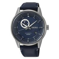 Jam Tangan Pria Seiko Automatic Blue Dial Leather Strap SSA391K1