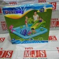 Kolam Renang Anak tiup Portable BESTWAY Play Center Fantastic