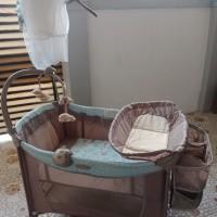 box bayi cocolatte/kasur bayi/tempat tidur bayi bekas
