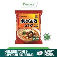 Nongshim Neoguri Udon 120gr / Mie Instan Korea Halal / Neoguri Spicy U