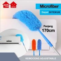 Kemoceng Microfiber Magnet Debu Panjang 170cm Extendable Bisa Tekuk