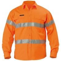 Baju Wearpack Kerja Safety Proyek Tambang K3 Biru Navy Orange Hifiz 3M - Orange, M