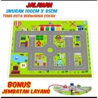 Mainan Edukasi Maps Bus Bis Tayo