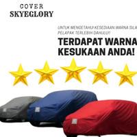 Cover Mobil Datsun Go + panca Sarung Mantel mobil - Putih