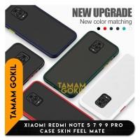 Case XIaomi Redmi Note 5 Note 7 Note 9 Note 9 Pro Skin Feel Matte - REDMI NOTE 9, Biru