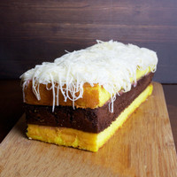 Low Carb Cake / Kue Lapis Keto | Keto-Friendly & Diabetic Friendly - Vanilla Cream, Keju