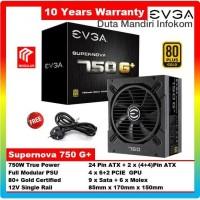 EVGA Supernova 750 G+ 80+ Gold Fully Modular - 750Watt Power Supply