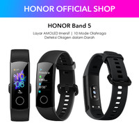 HONOR Band 5 Smart Band Sport - Fit To The Beat Resmi 1 Tahun