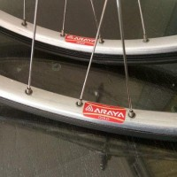 Wheelset ARAYA GOLD NJS Japan Tubular Type Promo