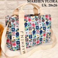 Terlaris! Best Seller Tas Wanita Handbag Marhen J Korea Flora