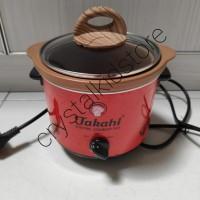 Tutup kaca slow cooker slowcooker takahi 1.2liter 1.2 liter l 1.2l