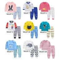Setelan Bayi / Setelan Panjang Bayi / Baju Bayi / Kaos Bayi Imut