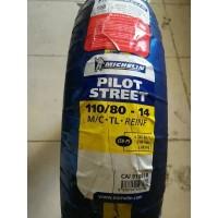 Ban Motor Tubeless Michelin Pilot Street 110/80 - 14 Vario Beat Scoopy