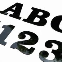 Signage NOMOR RUMAH - Letter Sign Huruf dan Angka 10CM