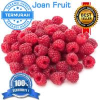 GROSIR TERMURAH 1kg Raspberry Import Frozen IQF Buah Raspberry Beku