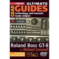 ROLAND BOSS GT 8 LICK LIBRARY DVD TUTORIAL SETTING EFEK GITAR