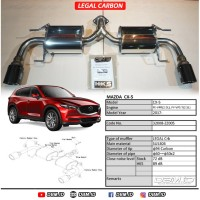 Knalpot Muffler HKS Mazda CX-5 CX5 Legal Carbon 32008-ZZ005