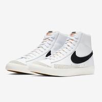 Nike Blazer Mid 77 Vintage White/Black bq6806-100 100% Authentic