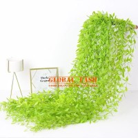 Daun Rambat Juntai Lee Kwan Yu / dekorasi Daun ARTIFICIAL plastik