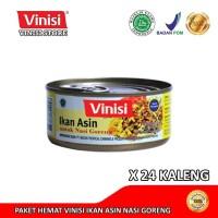 Paket Hemat 1 Karton (24 Kaleng) Vinisi Ikan Asin Nasi Goreng 120 Gr