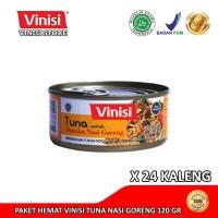 Paket Hemat 1 Karton (24 Kaleng) Vinisi Tuna Nasi Goreng 120 Gr