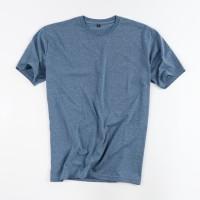 Kaos Polos Katun Combed Misty Blue - Premium Quality - Blue Jeans, XXXL