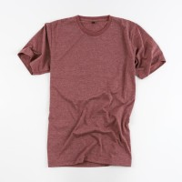 Kaos Polos Katun Combed Misty Merah Maroon - Premium Quality