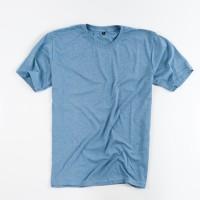 Kaos Polos Katun Combed Misty Baby Blue - Premium Quality - Baby Blue, S