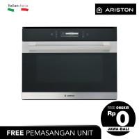 ARISTON Combi Steam Oven Tanam 45 Cm MS798IXAEX, 31 Liter
