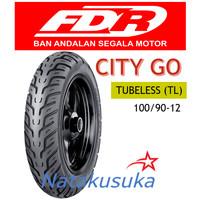 Ban Luar FDR City Go Tubeless (TL) 100/90 - 12