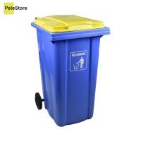 Krisbow 240 Ltr Tempat Sampah Plastik Neo - Biru -