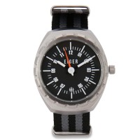 Terlaris! Eiger 1989 Moira Watch - Silver