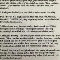 Qxa564 Jam dinding seiko 50cm - Abu-abu