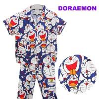 Baju tidur anak piyama doraemon