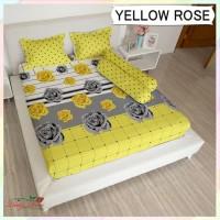 Sprei Lady Rose 200x200 Extra King terlaris Yellow Rose