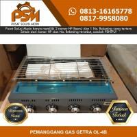 Jual Murah Mesin Panggangan Gas 4 Tungku Getra OL-4B