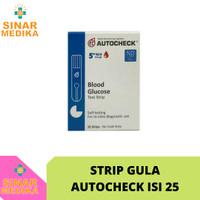STRIP AUTOCHECK GULA DARAH / AUTO CHECK GLUCOSE REFILL / GDS GLUKOSA