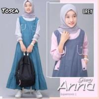 Gamis Anak Perempuan Tanggung Baju Muslim Anna Dress Usia 9-11 Tahun