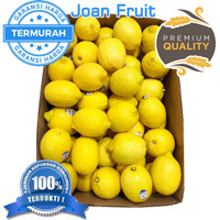 GROSIR TERMURAH 1kg Lemon California Buah Jeruk Lemon Super