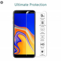 tempered glass SAMSUNG J6 Plus screen protector anti gores kaca bening
