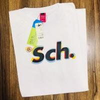 T-Shirt SCH // Kaos SCH Pria Dan Wanita // Bayar Di tempat