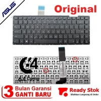 ORIGINAL Keyboard Laptop Asus X401U X401A X401Black Hitam Series