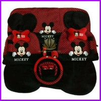 Sarung Mobil Jok Minnie Bantal 18 1 In Mickey Mouse
