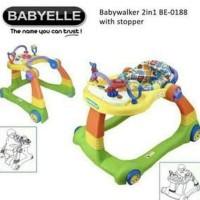 Baby Walker Baby Elle Babyelle 2 In 1 Be0188 Babywalker Rosevelvetshop